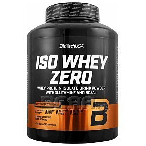 BioTech USA Iso Whey Zero with Real Coffee 2270g 1/1