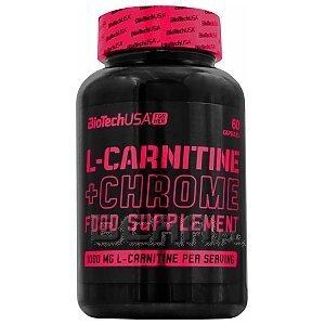 BioTech USA For Her L-Carnitine + Chrome 60kaps. 1/1