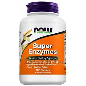 Now Foods Super Enzymes 180tab. 1/2