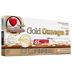 Olimp Gold Omega 3 1000mg 60kaps. 1/1