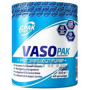 6Pak Nutrition VASO PAK 320g [promocja] 1/1