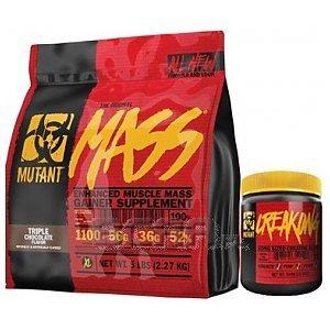 PVL Mutant Mass + CreaKong + Gratisy 6800g + 300g 1/5