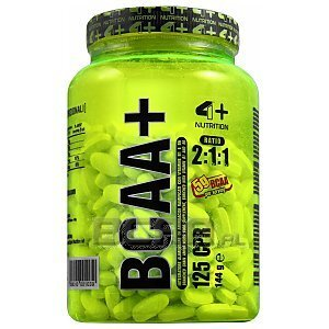 4+ Nutrition BCAA+ 125tab. 1/2