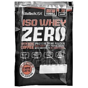 BioTech USA Iso Whey Zero with Real Coffee 25g 1/1