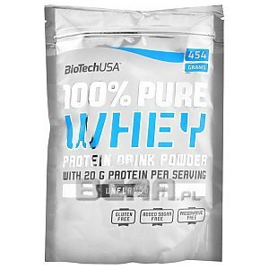 BioTech USA 100% Pure Whey unflavoured 454g 1/2