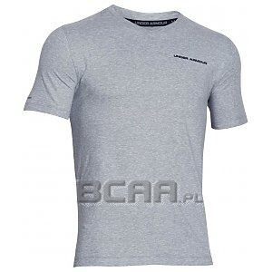 Under Armour Koszulka Męska Charged Cotton V-Neck SS T 1277086-025 szary 1/9