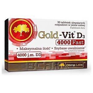 Olimp Gold-Vit D3 Fast 4000IU 30tab. 1/1
