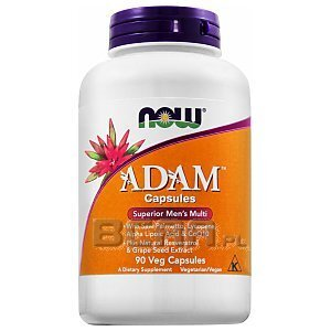 Now Foods Adam 90kaps. 1/1