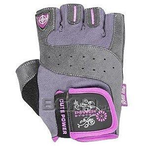 Power System Rękawiczki Treningowe Cute Power (PS-2560) szaro-różowe 1/3