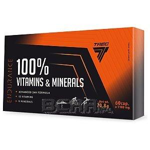 Trec 100% Vitamins & Minerals 60kaps. [promocja] 1/2
