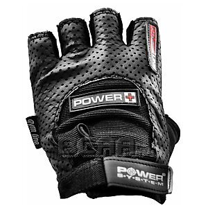 Power System Rękawice Treningowe Power Plus (PS-2500) czarne 1/2