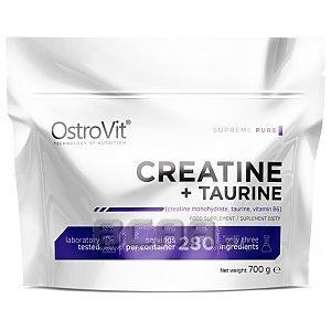 OstroVit Monohydrate Creatine + Taurine 700g 1/1