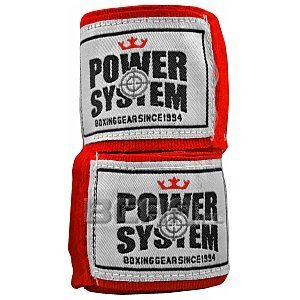 Power System Bandaże Owijki Boxing Wraps (PS-3404) 4 metry 1/2