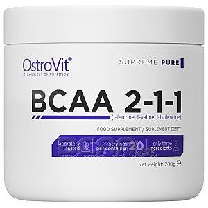 OstroVit Supreme Pure BCAA 2:1:1 200g 1/1