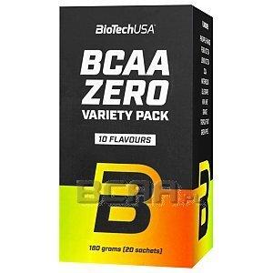 BioTech USA BCAA Flash Zero Variety Pack 20sasz. 1/4