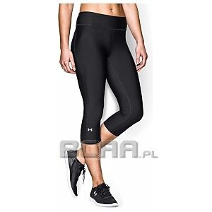 "Under Armour Leginsy Damskie HeatGear® Armour Compression 17"" Capri 1257980-001 czarny 1/4"