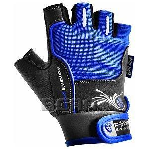 Power System Rękawiczki Treningowe Womans Power (PS-2570) niebiesko-szare 1/1
