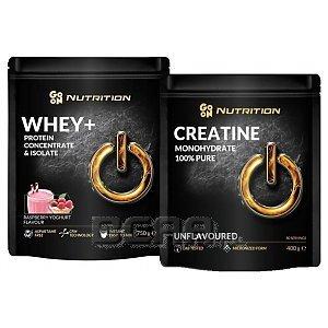 Go On Nutrition Whey + Creatine 750g+400g 1/2