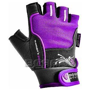 Power System Rękawiczki Treningowe Womans Power (PS-2570) szaro-fioletowe 1/1