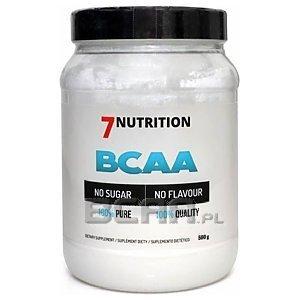 7Nutrition BCAA 100% 500g 1/1
