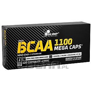 Olimp BCAA 1100 Mega Caps 360kaps. 1/1