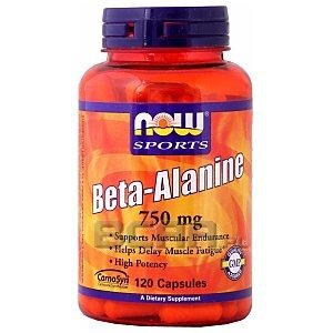Now Foods Beta-Alanine 120kaps. [promocja] 1/1