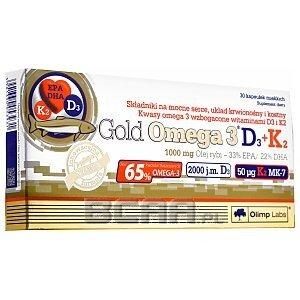 Olimp Gold Omega 3 D3+K2 30kaps. 1/1