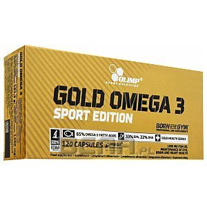 Olimp Gold Omega 3 Sport Edition 120kaps. 1/2