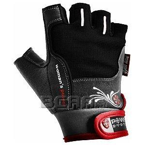 Power System Rękawiczki Treningowe Womans Power (PS-2570) czarno-czerwone 1/1
