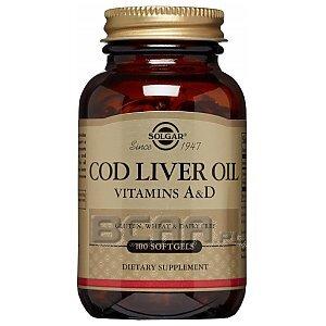 Solgar Cod Liver Oil 100kaps. 1/1