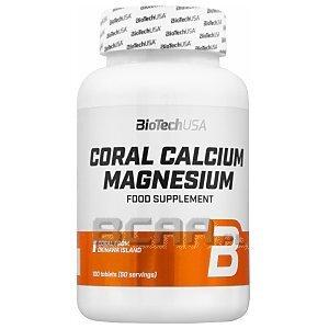 BioTech USA Coral Calcium Magnesium 100tab. 1/2