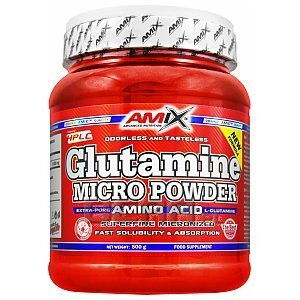 Amix L-Glutamine Powder 500g 1/1