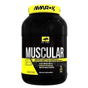 Amarok Nutrition Be Muscular More 1000g 1/1