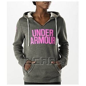 Under Armour Bluza Damska UA Favorite Fleece Wordmark Hoody 1264719-090 szary 1/5