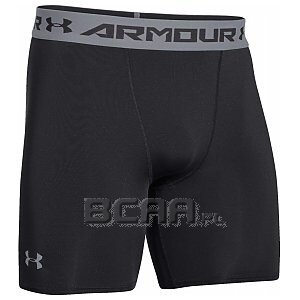 Under Armour Spodenki Męskie Heatgear Armour Compression Short 1257470-001 czarny 1/4