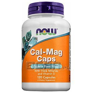 Now Foods Cal-Mag Caps with Vitamin D 120kaps. 1/1