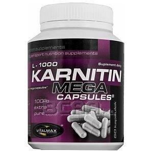 Vitalmax L-Karnitin 1000mg Mega Capsules 60kaps. 1/1