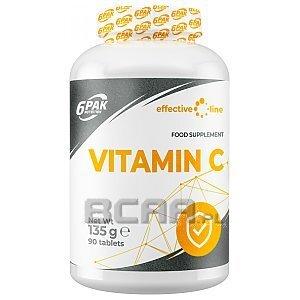 6Pak Nutrition Effective Line Vitamin C 90tab. 1/1