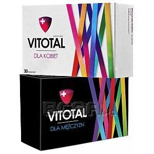 Zestaw Vitotal dla Kobiet i Mężczyzn 30tab.+30tab. 1/3