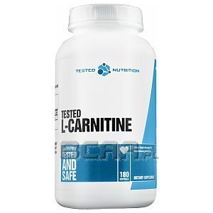 Tested Nutrition Tested L-Carnitine 180kaps. 1/1