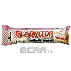 Olimp Baton Gladiator High Protein Bar 60g [promocja] 1/4