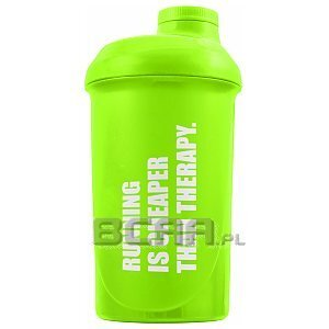 Olimp Shaker Running Is Cheaper Than Therapy 500ml 1/2