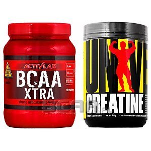 Zestaw Activlab BCAA Xtra + Universal Creatine Monohydrate 500g+500g [promocja] 1/1