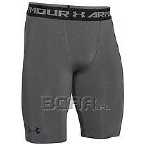 Under Armour Spodenki Męskie Heatgear Armour Compression Shorts Long 1257472-090 szary 1/5