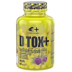 4+ Nutrition D Tox+ 120kaps. 1/1