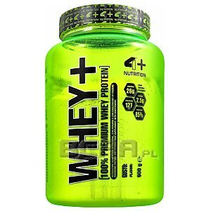 4+ Nutrition Whey+ 900g 1/2