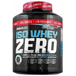 BioTech USA Iso Whey Zero +20% FREE 2724g 1/1