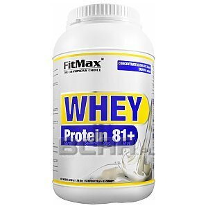 Fitmax Whey Protein 81+ 2250g [promocja] 1/3