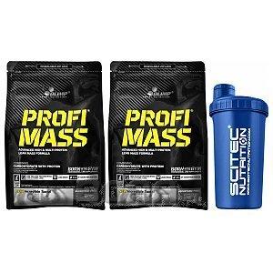 Olimp Profi Mass + Shaker 2x1000g + 700ml 1/1
