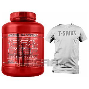 Scitec 100% Beef Concentrate + T-Shirt Gratis 2000g 1/1
